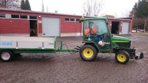 Tractor amb remolc